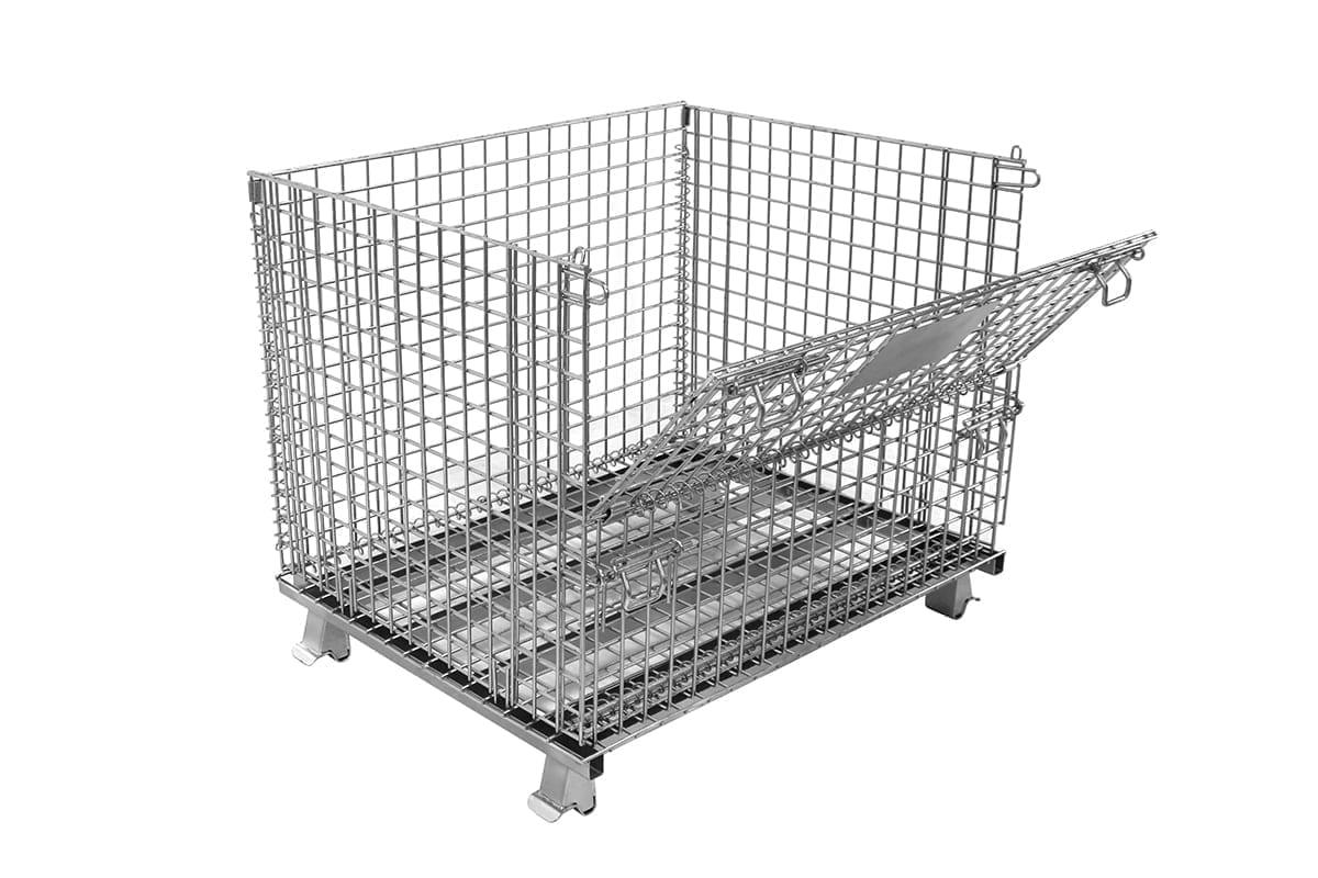Med Dropgate Wire Basket