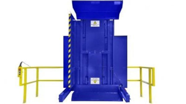 2. Dual Clamp FSDC BUCKET Ground Loaded Push Button Control with Standard Guarding Pallet Inverter