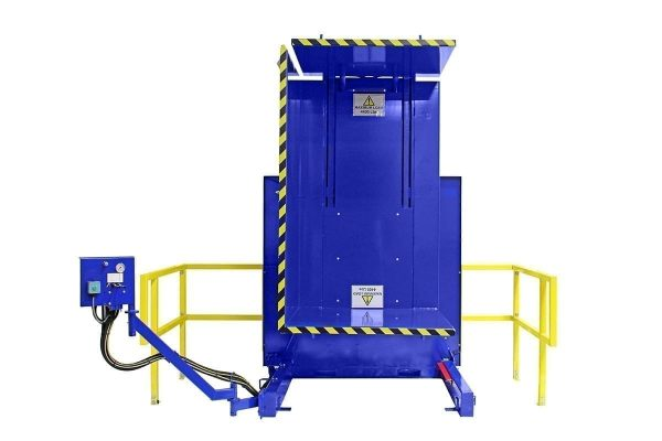 4. Single Clamp FS 2200 Lever Conrol with Standard Guarding Pallet Inverter