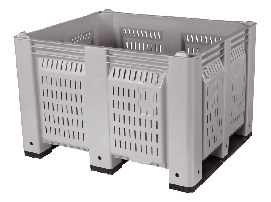 48 X 40 X 31 VENTILATED PLASTIC CONTAINER 1