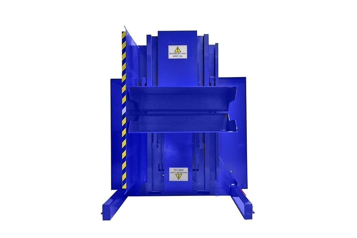 5. Dual Clamp FSDC BUCKET Ground Loaded Push Button Control Minimum Clamping Pallet Inverter