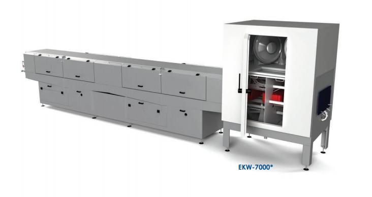 Ekw-7000 Crate Washer