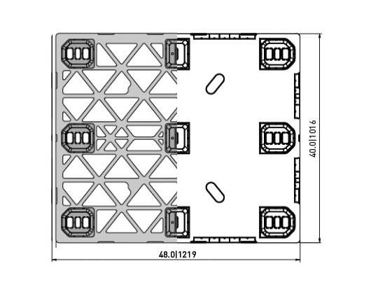 EXP 333 PLASTIC PALLET 5