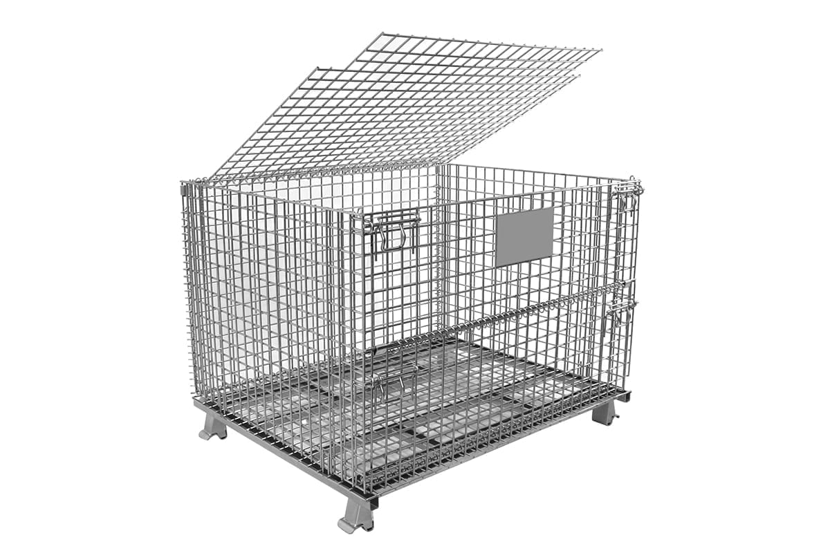 L Lid Wire Basket