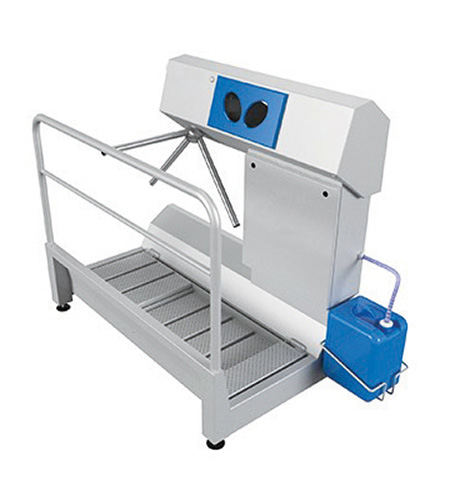Dzd-Hdt Hygiene Station (Sole &Amp; Hand Disinfection) 1