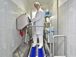 Dzw-Hdt Hygiene Station≪Br≫(Sole Cleaning &Amp; Hand Disinfection) 2