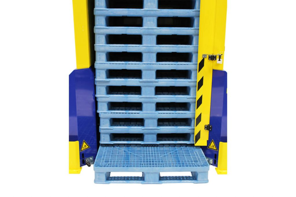 How To Use A Pallet Dispenser 17