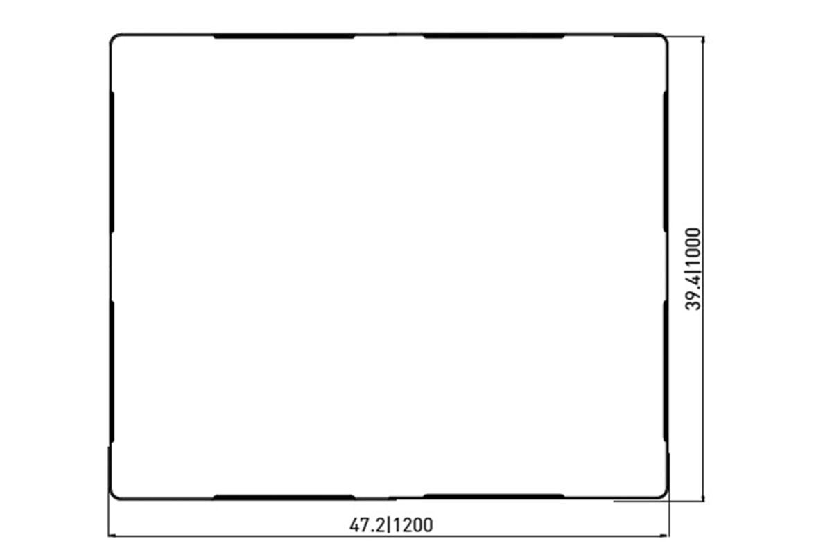 RCK 756 PLASTIC PALLET 5