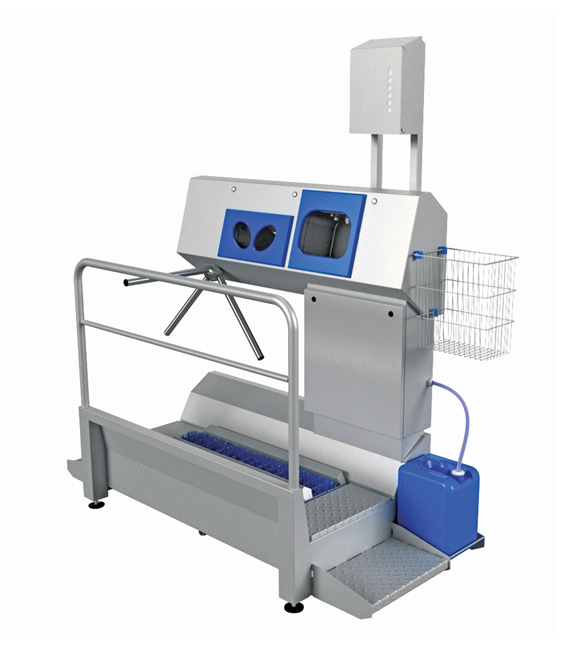 SANICARE HYGIENE STATION<br> (SOLE CLEANING) 1