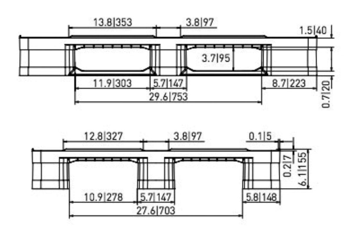 STK 746 PLASTIC PALLET 5