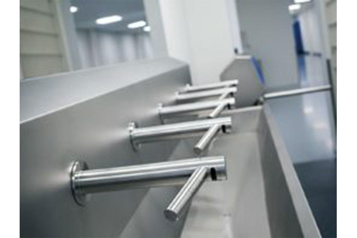 Wash Basins W/ Hand Dryers 2