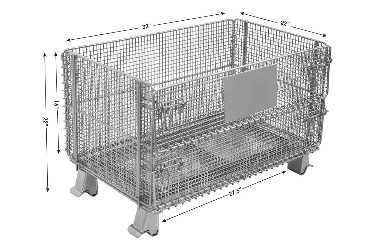 Junior Wire Container 1