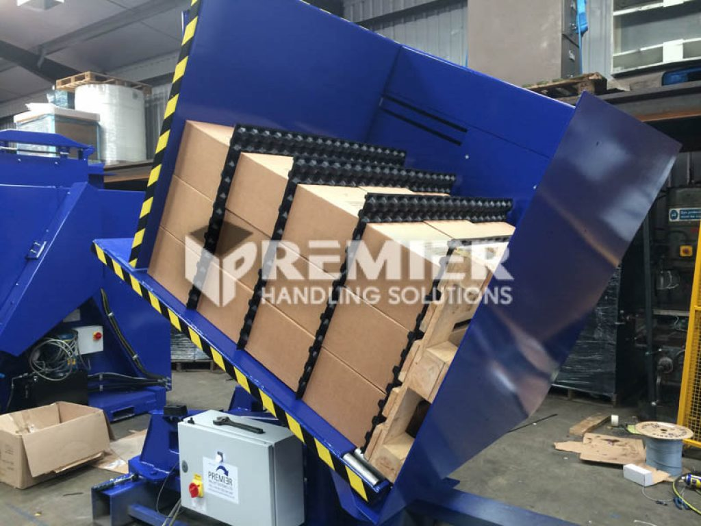 G95 Pallet Spacer Removal Pallet Inverter 36