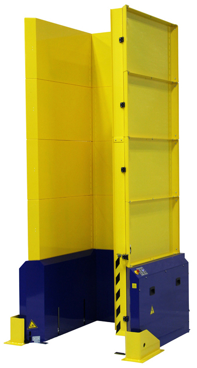 PALLET DISPENSER WOOD BLOCK PALLETS