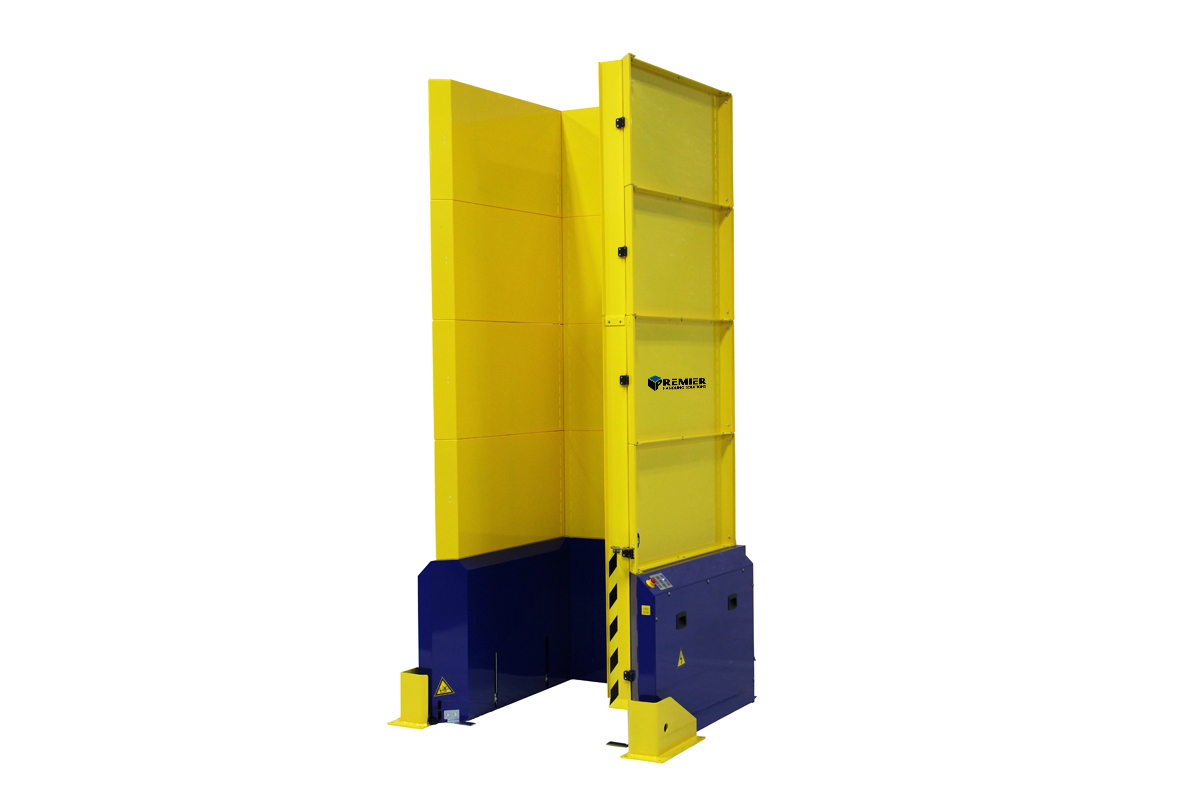 Pallet Dispenser Wood Block Pallets 1