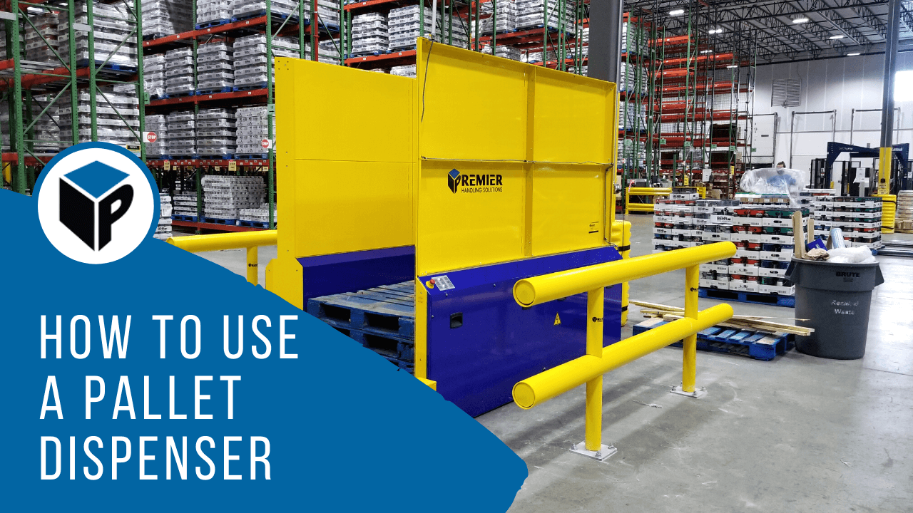 How To Use A PALLET DISPENSER