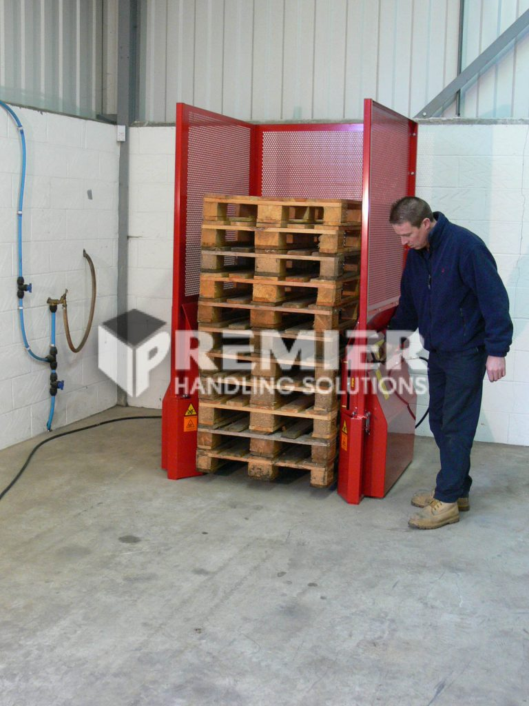 How To Use A Pallet Dispenser 36