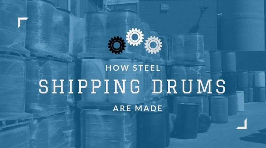 How Steel Shipping Drums are Made